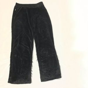 North Face Osito Black Fuzzy Pants